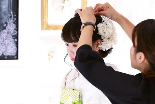 花嫁プラン(和装撮影)の流れ02