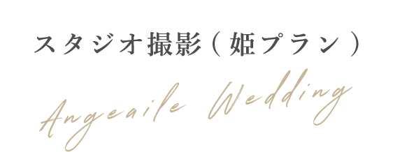 スタジオ撮影(姫プラン)