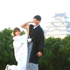 姫路城周辺のロケ撮影