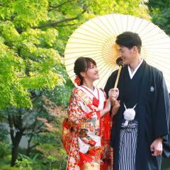 姫路 好古園のロケ撮影