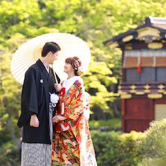 神戸 相楽園のロケ撮影
