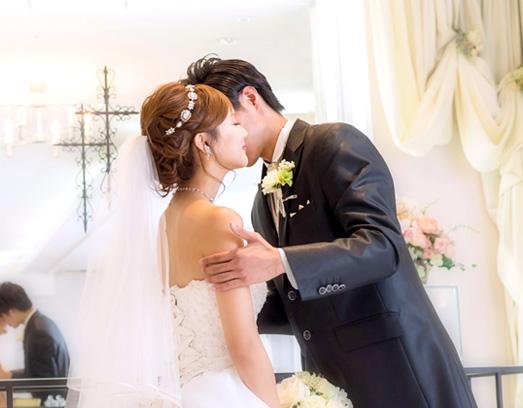 結婚写真の洋装撮影(ドレスプラン)