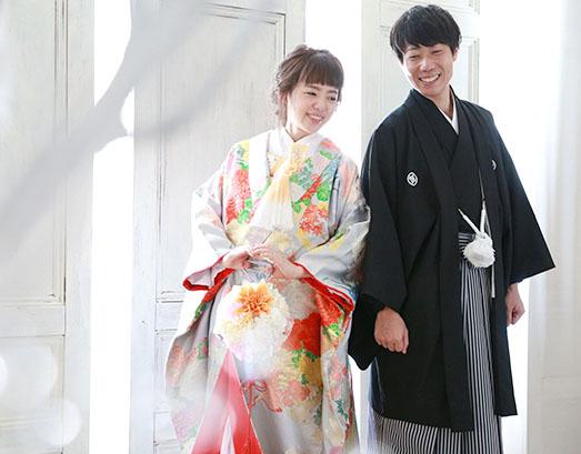 結婚写真の和装撮影(花嫁プラン)
