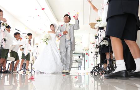 ご撮影当日にサプライズ演出!
