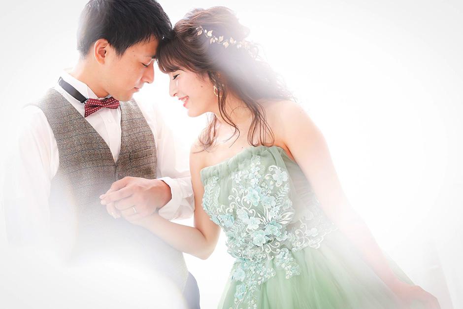 結婚写真のスタジオ洋装・和装両方撮影(姫プラン)
