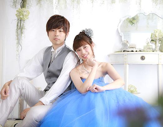 結婚写真の和装・洋装衣装着放題(フリープラン)