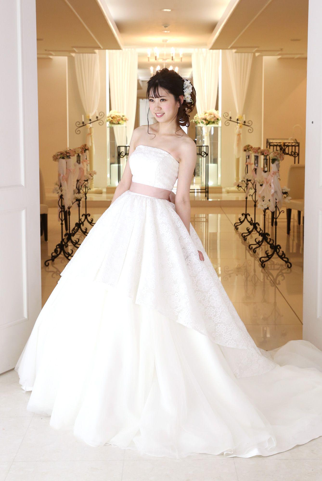 全店 白ドレス NEW!W-A-11F-1029_2wayドレス(ロング丈)