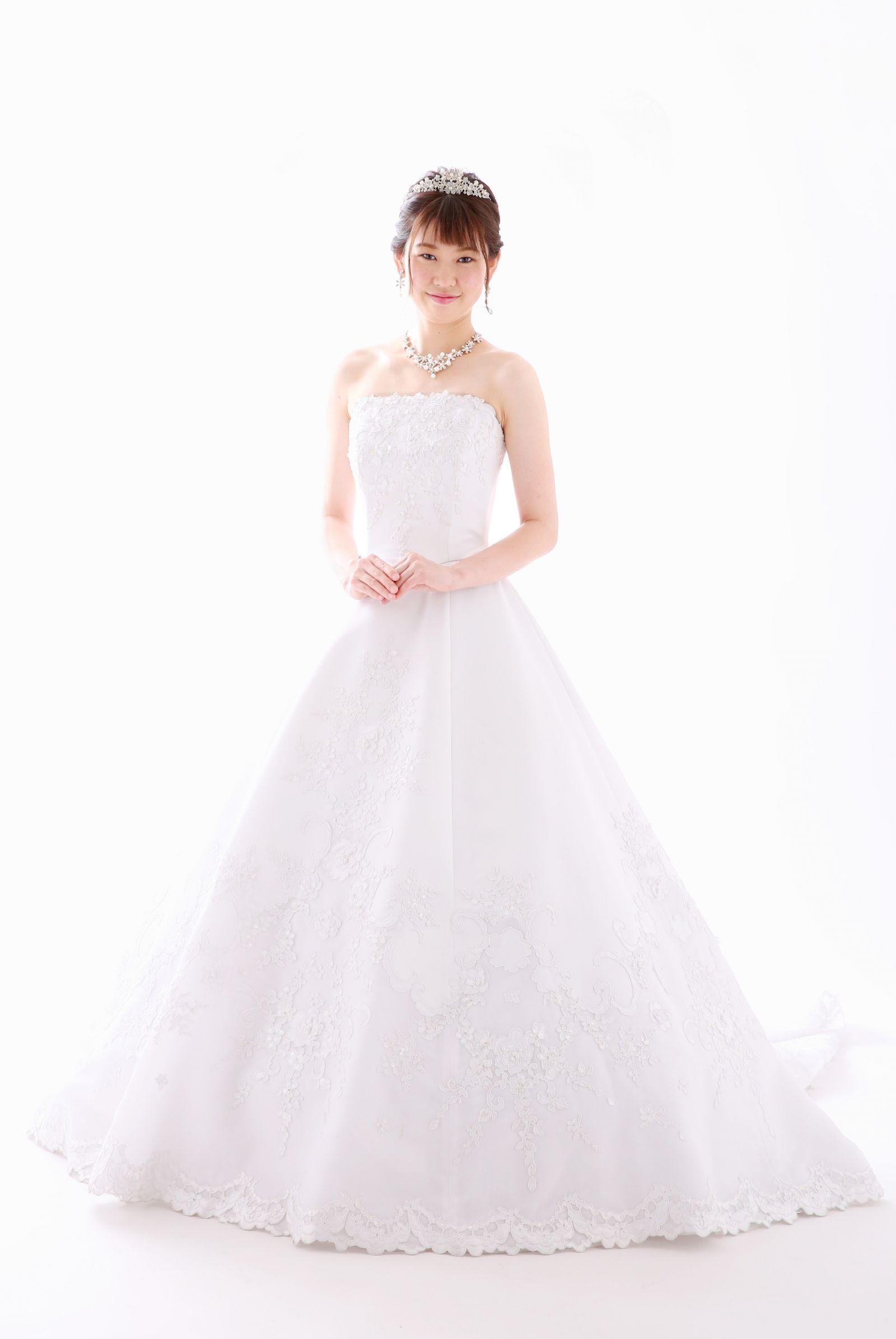 姫路店 白ドレス W-A-11F-001