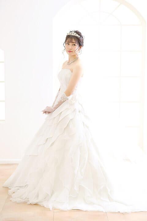 姫路店 白ドレス W-A-7F-121