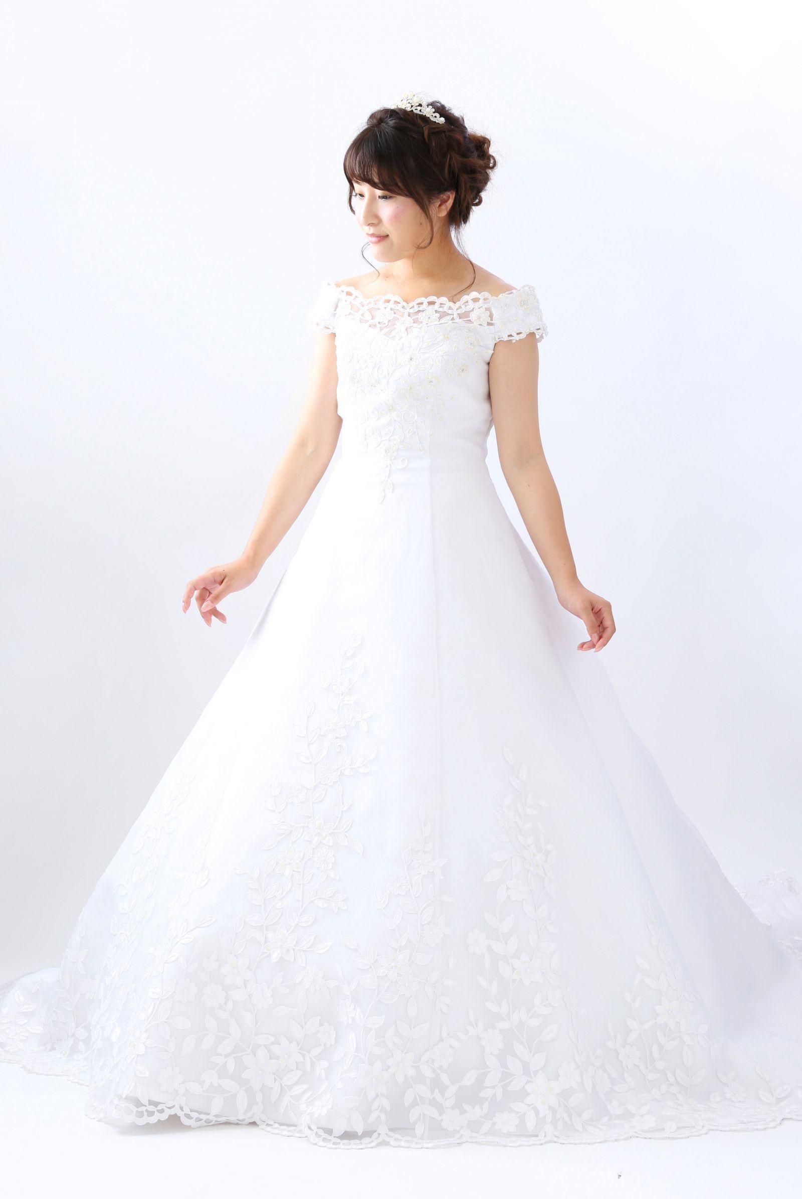 西神戸店 白ドレス W-A-9-003