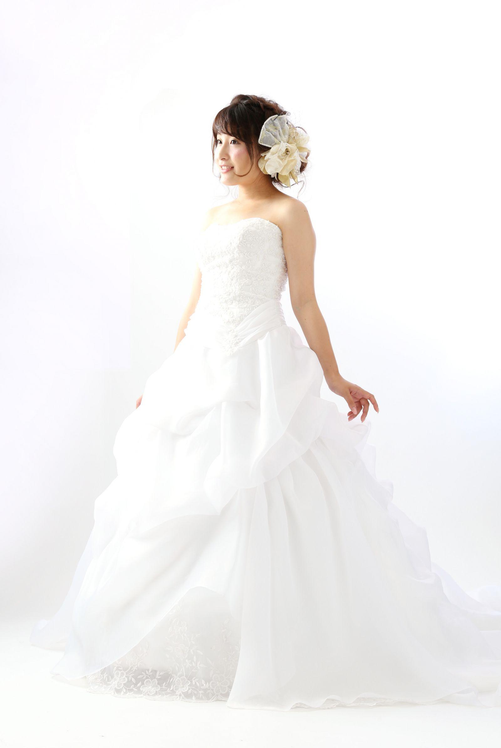 姫路店 白ドレス W-A-9F-118