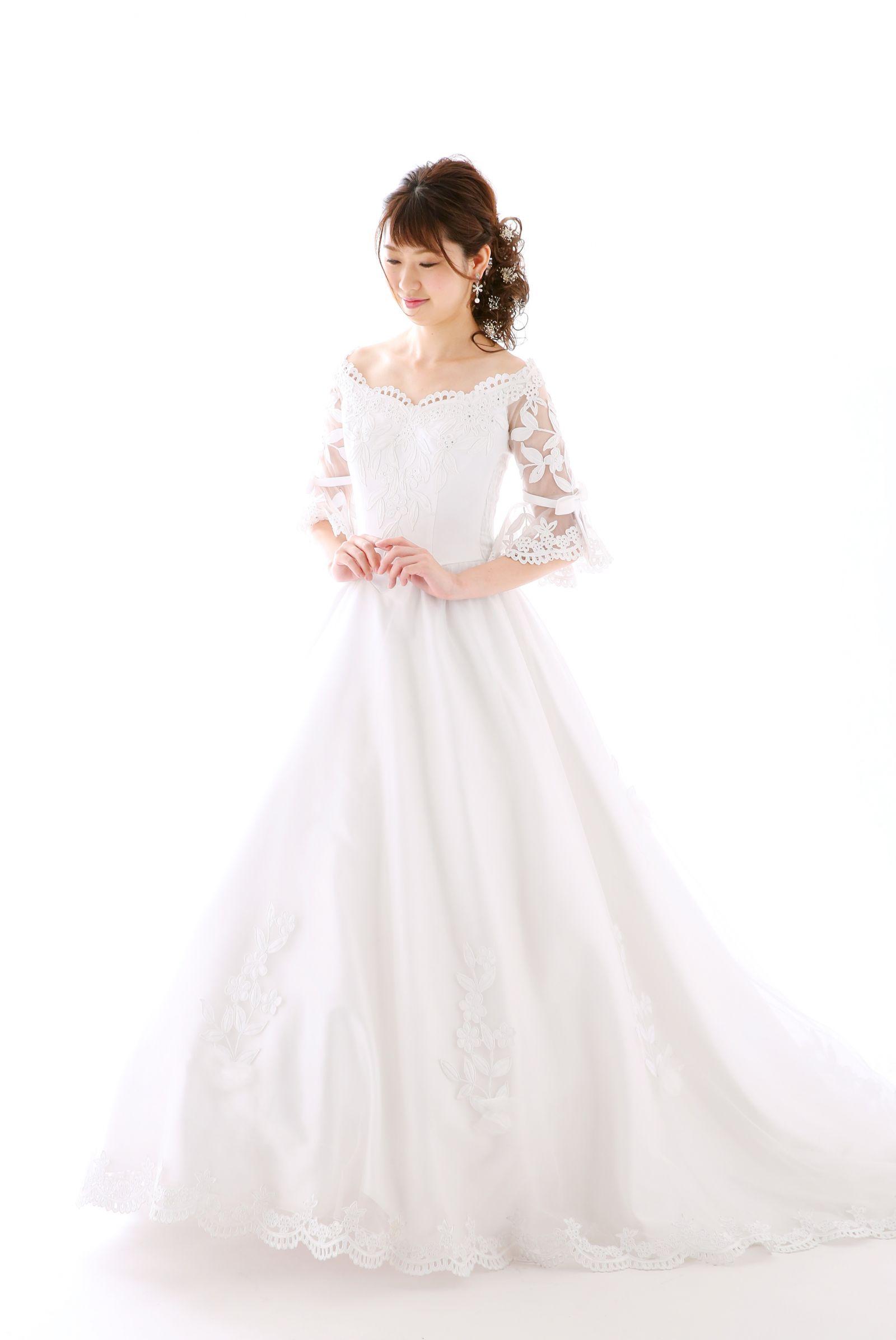 姫路店 白ドレス W-P-7F-017