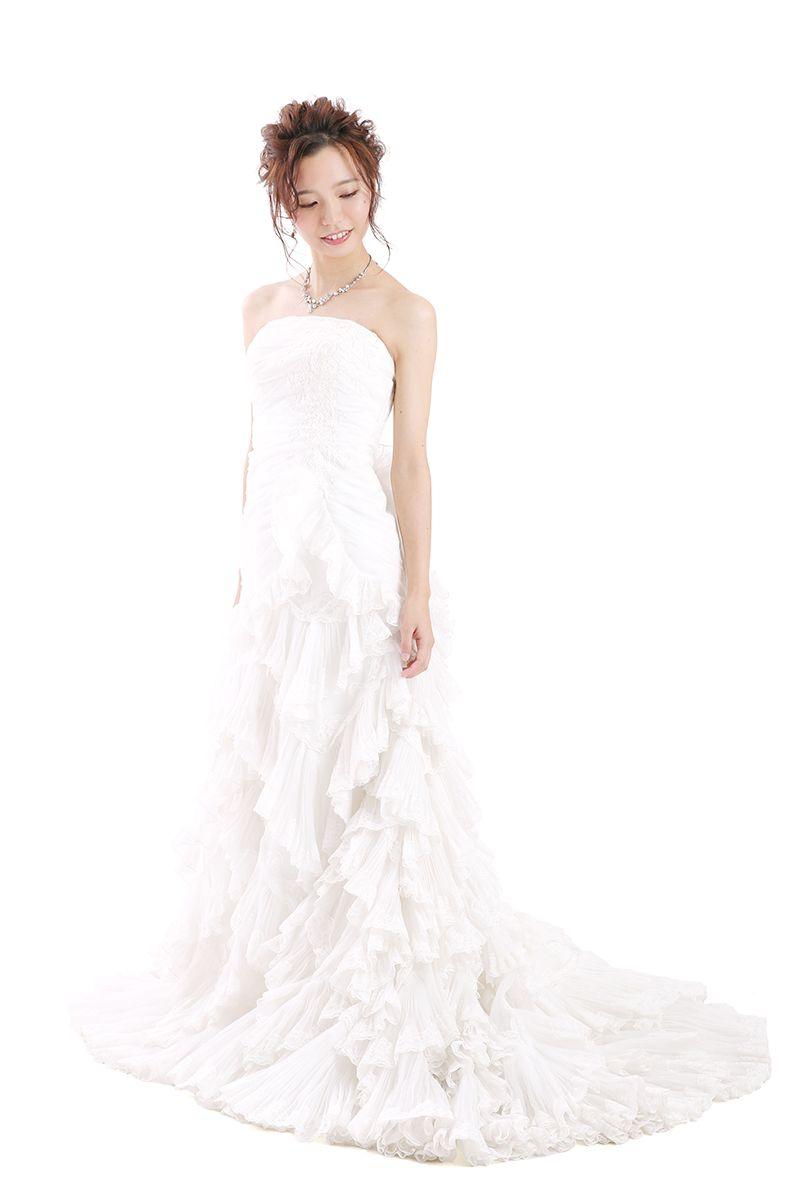 姫路店 白ドレス W-S-9F-1002