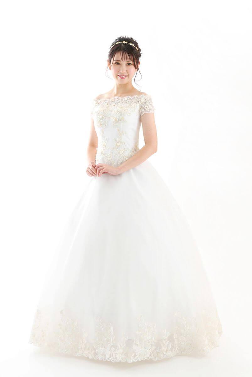 西神戸店 白ドレス OW-A-9F-084